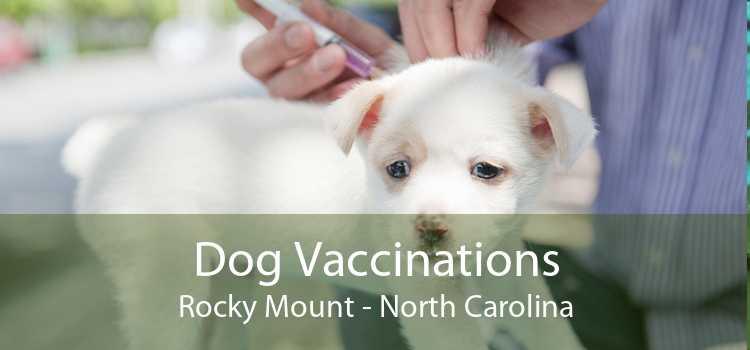Dog Vaccinations Rocky Mount - North Carolina
