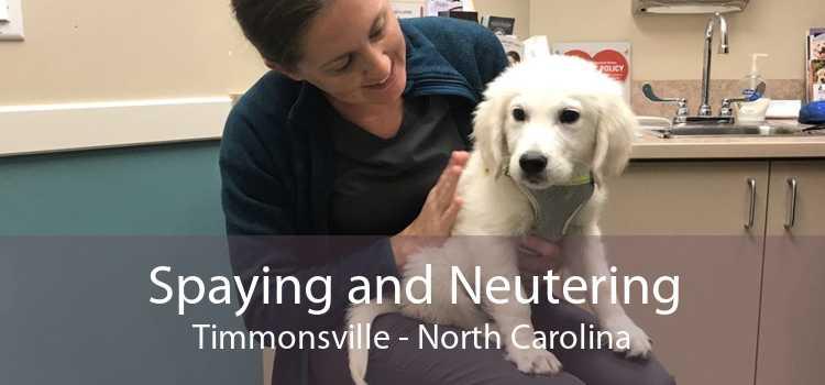 Spaying and Neutering Timmonsville - North Carolina